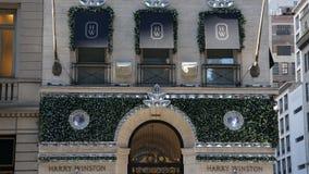 Harry Winston Store sur Fifth Avenue à New York Photo libre de droits