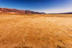 Harsh Death Valley Royalty Free Stock Photography