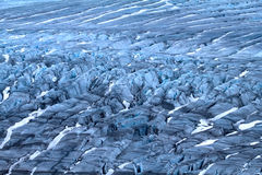 Harsh glaciers of Arctic. Live glacier Stock Photos