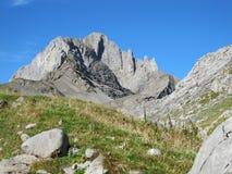 Harsh mountains Stock Photos