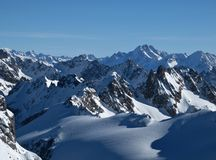 Free Harsh Mountains In The Winter Stock Image - 28927211