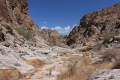Harsh terrain in Nevada. The harsh terrain of Grapevine Canyon in Nevada Royalty Free Stock Photography