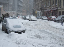 Harsh winter Stock Image