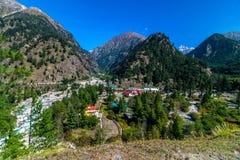 Harshil dolina w Uttrakhand fotografia royalty free