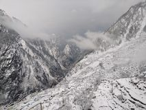 Harshil, Uttarakhand, Ινδία Στοκ φωτογραφία με δικαίωμα ελεύθερης χρήσης