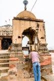 Harshshat Mata świątynia w Abhaneri, India Zdjęcie Royalty Free