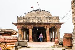 Harshshat Mata świątynia w Abhaneri, India Fotografia Royalty Free