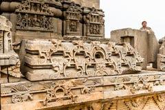 Harshshat Mata świątynia w Abhaneri, India Obraz Royalty Free