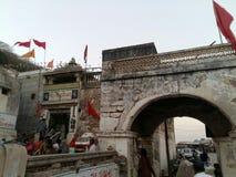 HARSIDDHI MATA świątynia fotografia royalty free