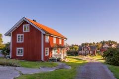 Harstena in Sweden, principally known Stock Photo
