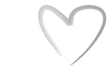 hart royalty-vrije stock foto
