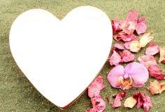 Hart aan liefde Stock Afbeeldingen