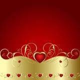Hart aan St.Valentine Royalty-vrije Stock Afbeelding