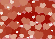 Hart_background. Valentines Day love heart background Stock Photography