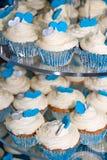 Hart Cupcakes Stock Foto's