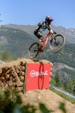 HART Danny GBR MADISON SARACEN FACTORY TEAM in the MERCEDES-BENZ UCI MTB WORLD CUP 2019 - DHI Vallnord, Andorra on July 2019. VALLNORD, ANDORRA  - JULY 5 2019 stock photo