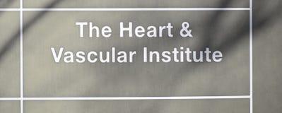 Hart en Vasculair Instituut stock foto