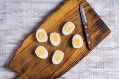 Hart gesotten Eier lizenzfreies stockbild
