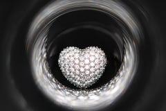 Hart gestalte gegeven ring Royalty-vrije Stock Afbeelding