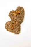 Hart gevormde koekjes Stock Foto's