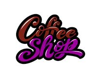 Hart gevormde kop voor koffieminnaars Royalty-vrije Illustratie