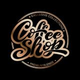 Hart gevormde kop voor koffieminnaars Vector Illustratie