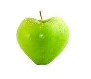 Hart (Groene appel) royalty-vrije stock afbeeldingen