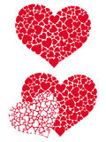 Hart in harten 3 Stock Afbeelding