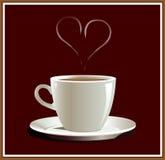 hart kawę Obraz Stock