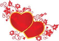 Hart, liefde royalty-vrije illustratie