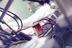 Hart-long machine die in ICU werken Royalty-vrije Stock Fotografie