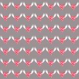 Hart met engelenvleugels stock illustratie