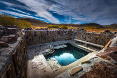 Hart Mountain Hot Springs Royalty Free Stock Images