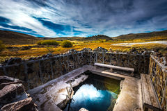 Hart Mountain Hot Springs Stock Images