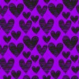 Hart naadloos patroon vector illustratie