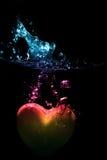 Hart onderwater Stock Afbeelding
