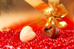 Hart op de Dag van Valentine Royalty-vrije Stock Foto
