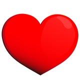Hart, rode harten, Stock Fotografie