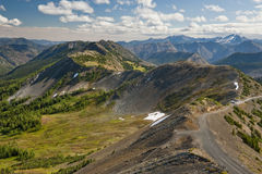 Hart's Pass, Washington. Hart's Pass is accessible by car and is the highest point in the state of Washington that one can drive revealing magnificent vistas Stock Photo