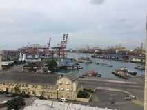 This is hart of Srilanka.Colombo port. royalty free stock photos