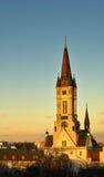 Hart van de kerk van Jesus Stock Foto's