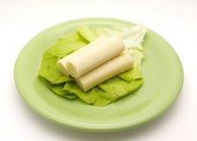 Hart van de salade van de Palm Royalty-vrije Stock Foto's