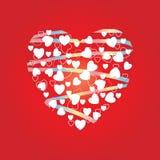 Hart van harten Royalty-vrije Stock Afbeelding