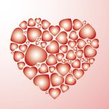 Hart van harten Royalty-vrije Stock Afbeeldingen