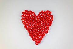 Hart van harten Stock Foto's