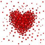 Hart van harten - ontwerp Stock Afbeelding