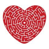 Hart van het Labyrint stock illustratie