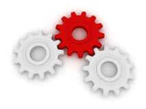 Hart van het mechanisme Stock Foto