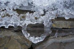 Hart van ijs Royalty-vrije Stock Afbeelding
