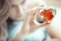 Hart van liefde Stock Fotografie